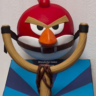 Extreme Angry Bird - Workshop Pirikos - Cake by Vanessa