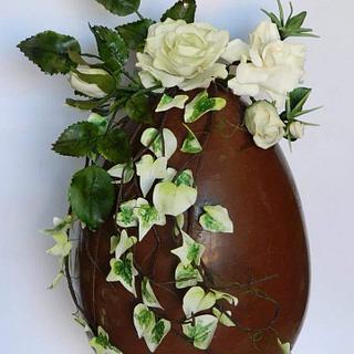 Uovo e fiori