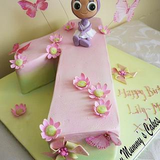 Lau Lau Birthday Cake - Cake by Scrummy Mummy's Cakes