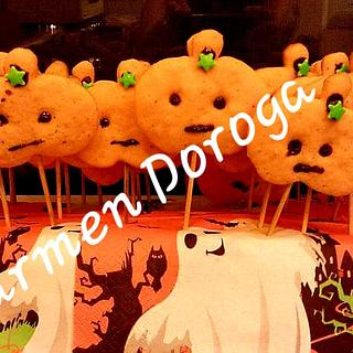 Pumpkin cookies Halloween