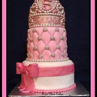 Tiara/Princess Cake