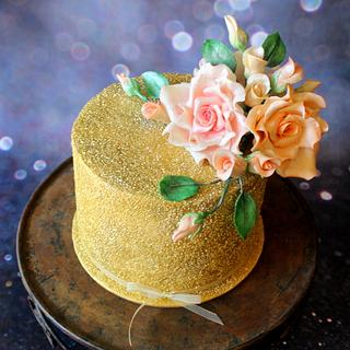 Vintage Beauty - Cake by Slice of Heaven By Geethu