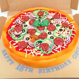 Pizza a Cake Anyone?