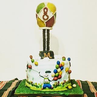BALLOONING CAKE