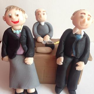 Teachers toppers - Cake by CupNcakesbyivy