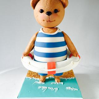 Teddy Bear Cake  - Cake by Olga Zaytseva