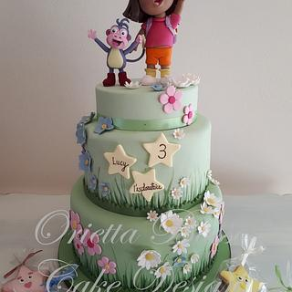 Dora the explorer - Cake by Orietta Basso