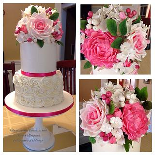 Buttercream Beauty and Sugar Bouquet