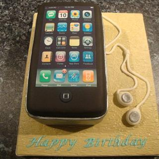 Iphone Birthday Cake - Cake by Claire