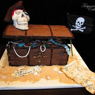 Cake pirate treasure