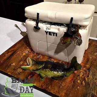 Yeti grooms cake - Cake by Bake My Day Acadiana