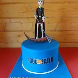 Soul Eater Cake. - Cake by Zoe White