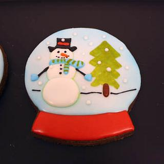 Snowglobe Cookie
