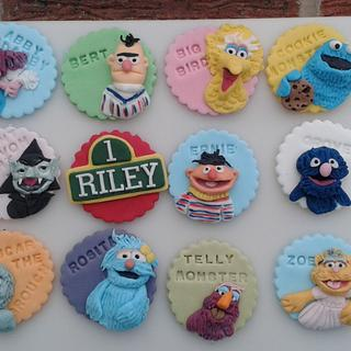 Sesame street toppers