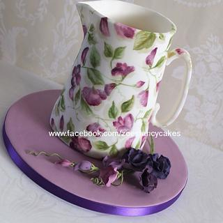 Birthday cake jug - Cake by Zoe's Fancy Cakes