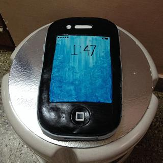 i phone cake for dad