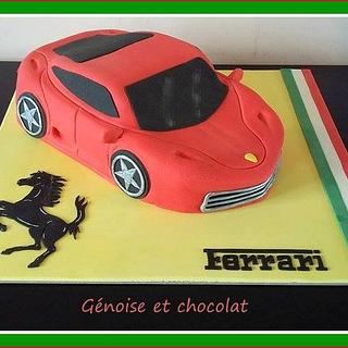 Ferrari cake - Cake by Génoise et chocolat