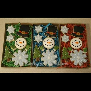 Christmas sugar cookies, Style 2