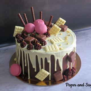 Black Forest Cake - Cake by Dina - Paper and Sugar