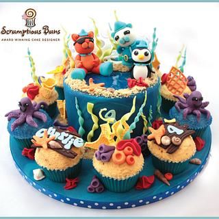 Big Cake Little Cakes : Octonauts - Cake by Scrumptious Buns