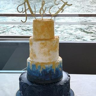 Wedding Cake - Cake by Ruth - Gatoandcake