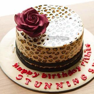 Rossette - Cake by Smitha Arun