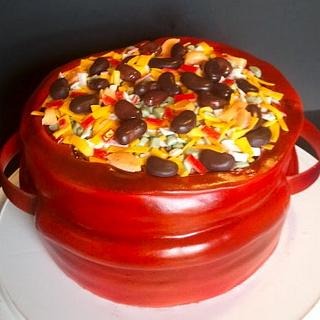 Chili Cook Off Cake - Cake by Mimi's Sweet Shoppe Amanda Burgess