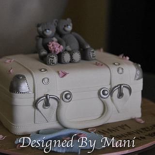 me to you bears anniversary cake