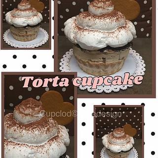The GIANT cupcake !!!