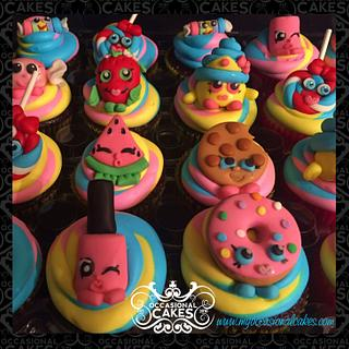 shopkins - Cake by Occasional Cakes