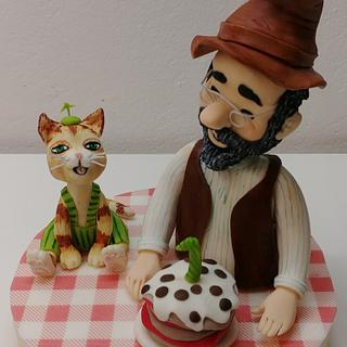 Pettersson & Findus Cake Topper