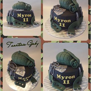 Army cake  - Cake by Gaabykuh