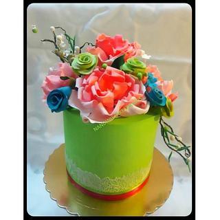 Anniversary Cake - Whipped Cream Cake