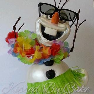 """Olaf, """"It's always summer somewhere"""""""