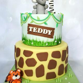 Safari cake - Cake by Vanilla Iced