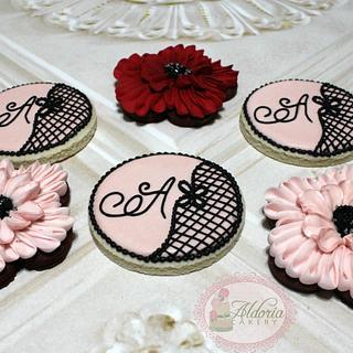 Quinceanera Cookies