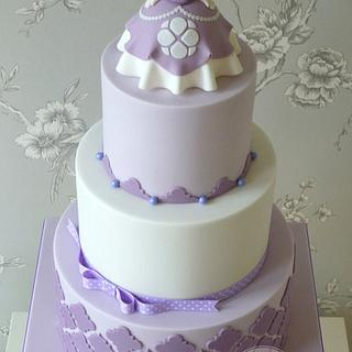 Strange Sofia The First Birthday Cake 12 Cakes Cakesdecor Funny Birthday Cards Online Overcheapnameinfo