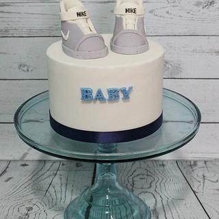 Babies First Self Lacing Nike Sneakers
