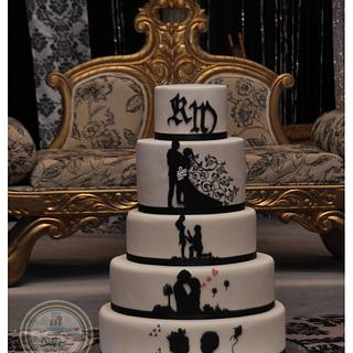 Story of Romance - Cake by Spring Bloom Cakes