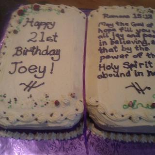 21st caramel mud cake