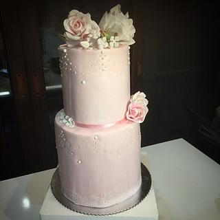 Wedding cake - Cake by Begum Rogers