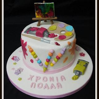 Art Lover cake