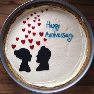Anniversary Key Lime Pie - Cake by Cake Love