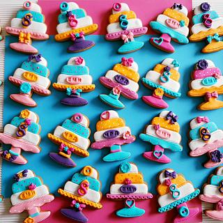 Birthday cake cookies 💕