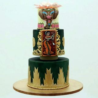 Incredible India Cake Collaboration -  Temple Cake