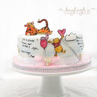 Winnie the Pooh  - Cake by Kayleigh's cake boutique