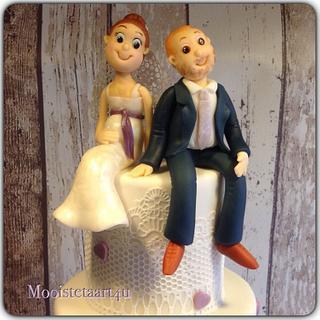 Bride & groom...