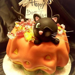 halloween birthday cake - Cake by La Mimmi