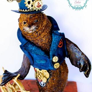 Sammy the Steampunk Sea lion
