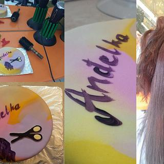 Quick Hair Stylist Cake